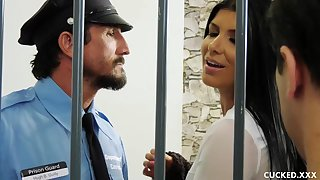 Romi Rain is a smoking molten dark haired who luvs to have warm ricochet boundary in the prison
