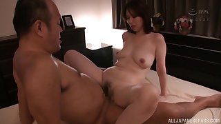 Hotel room one on one portray with always horny Shouda Chisato