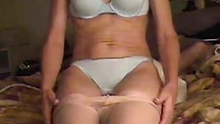 Mature wife facesitting on cam