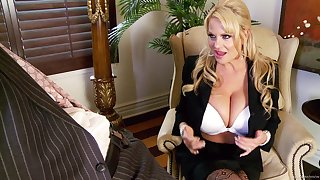 Kelly Madison is a sexy businesswoman in need of a drill